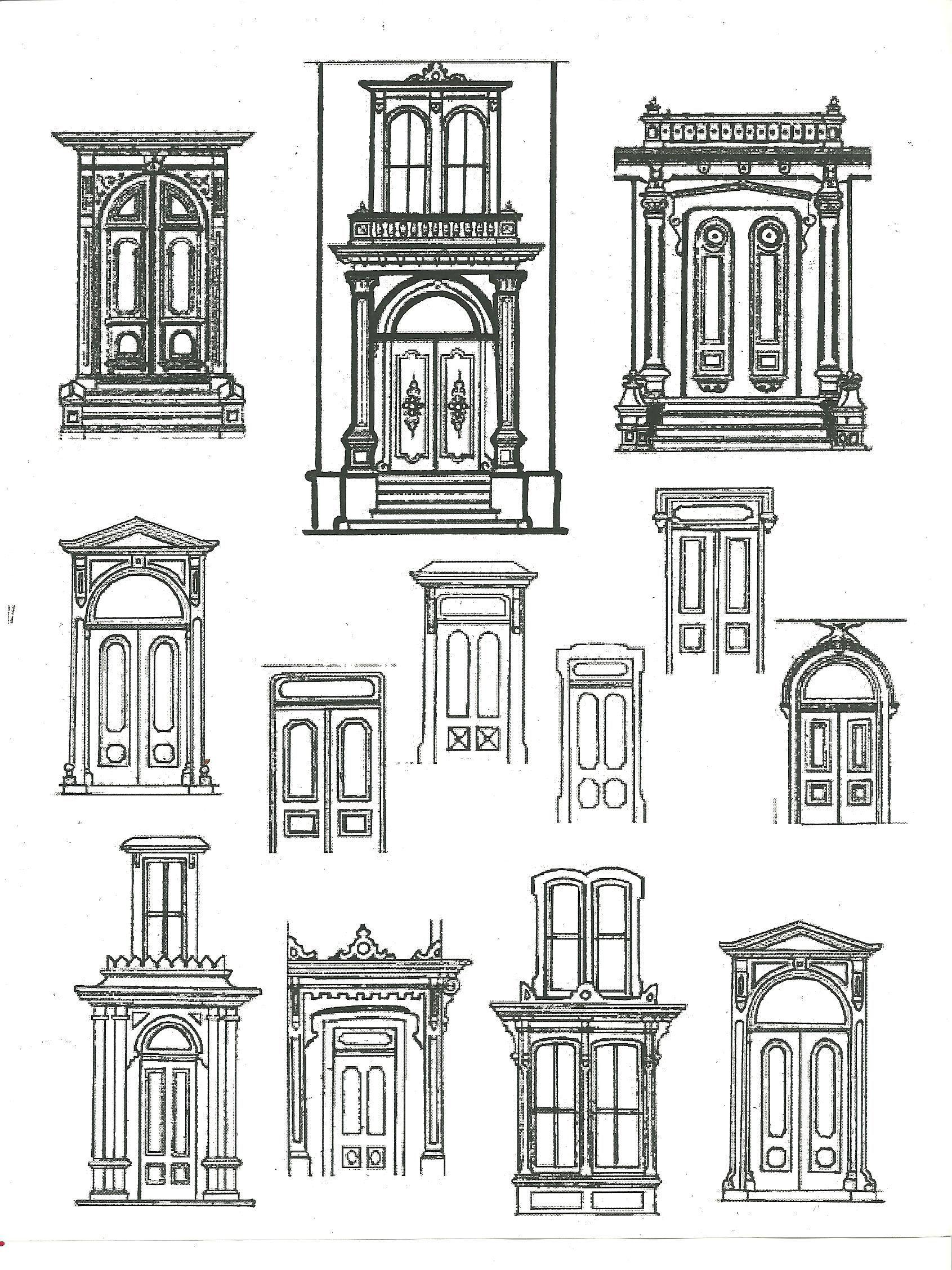 Door pediment architecture pinterest architecture for Ponteggio ceta dwg