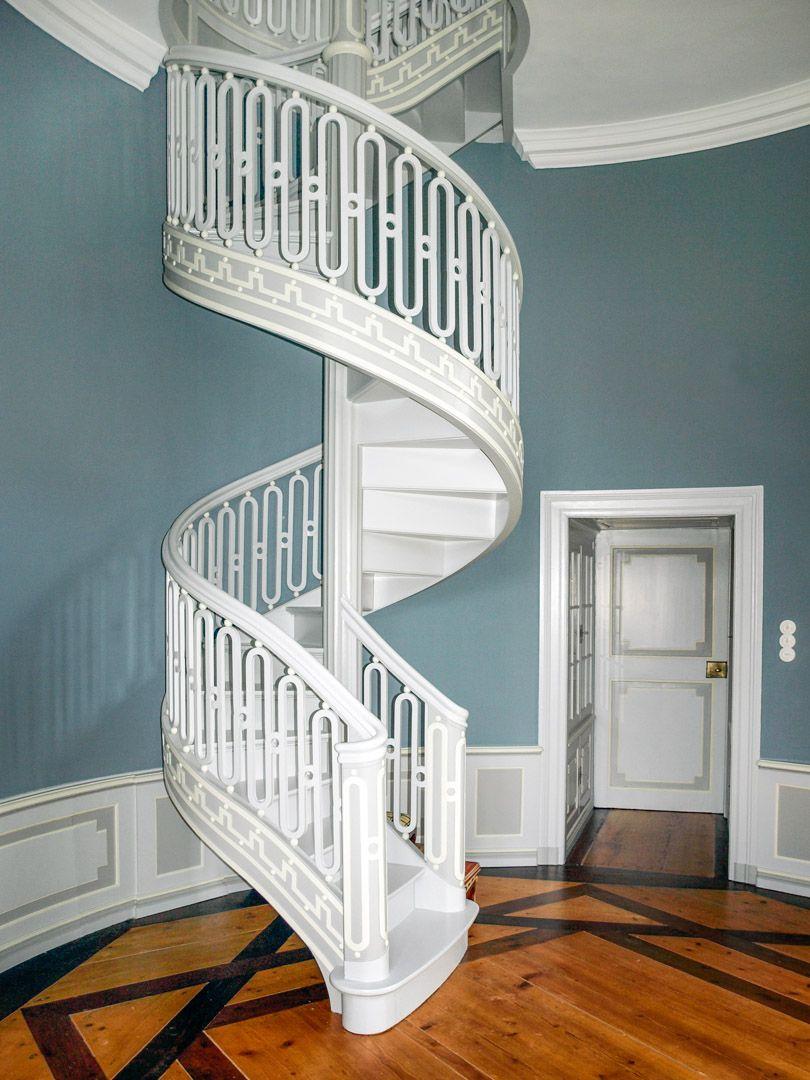 Fantastisch Wandfarbe Blau  Grau   Anna Von Mangoldt