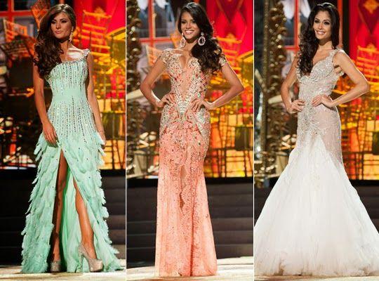 Traje de Gala Miss Universo 2013