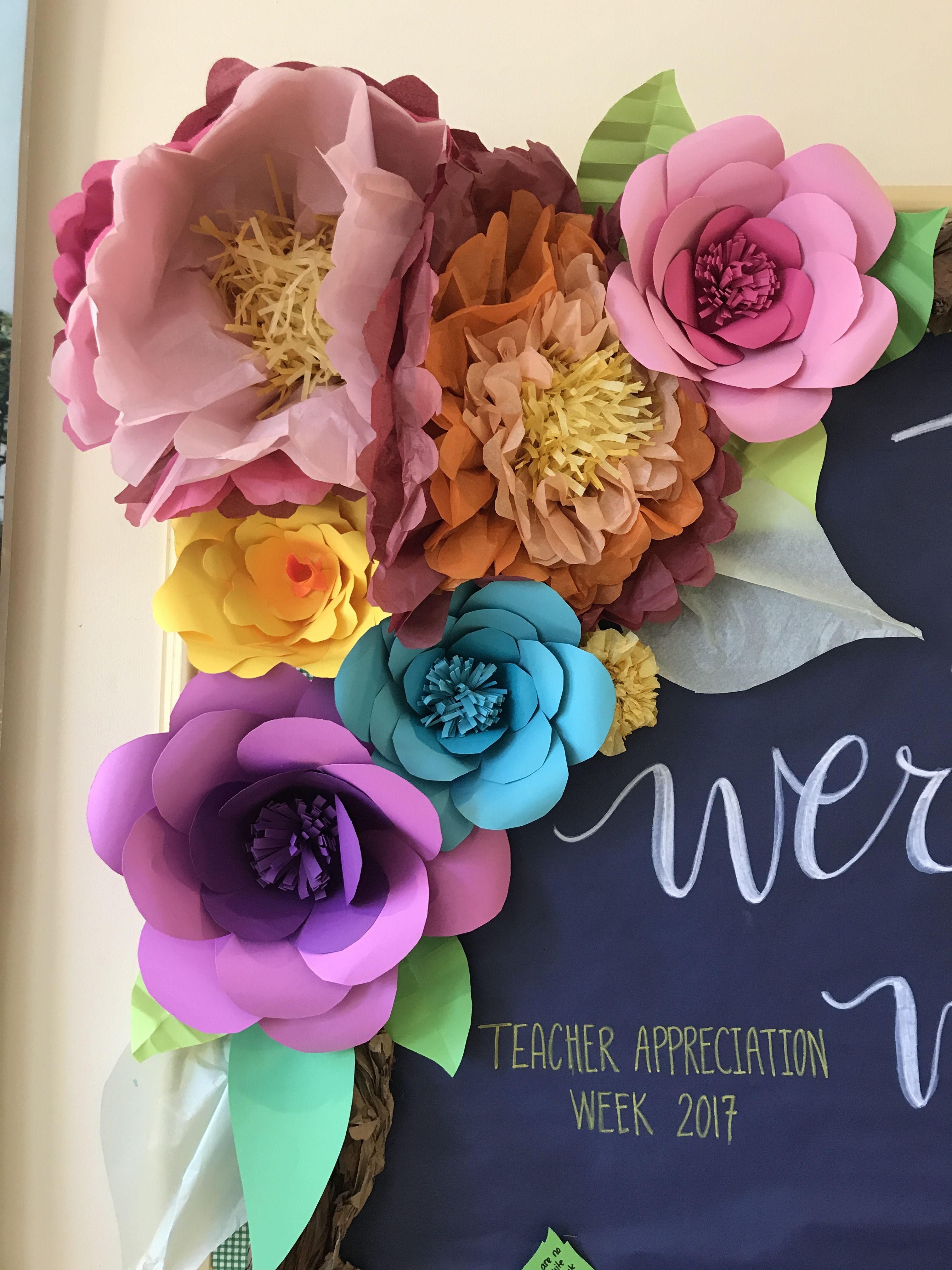 Tissue and craft paper flowers crafty pinterest tissue and craft paper flowers jeuxipadfo Gallery