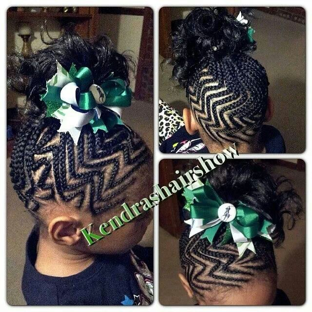 Zigzag Pretty Braid Updo Little Kids Hairstyles Pinterest Updo Hair Style And Kid