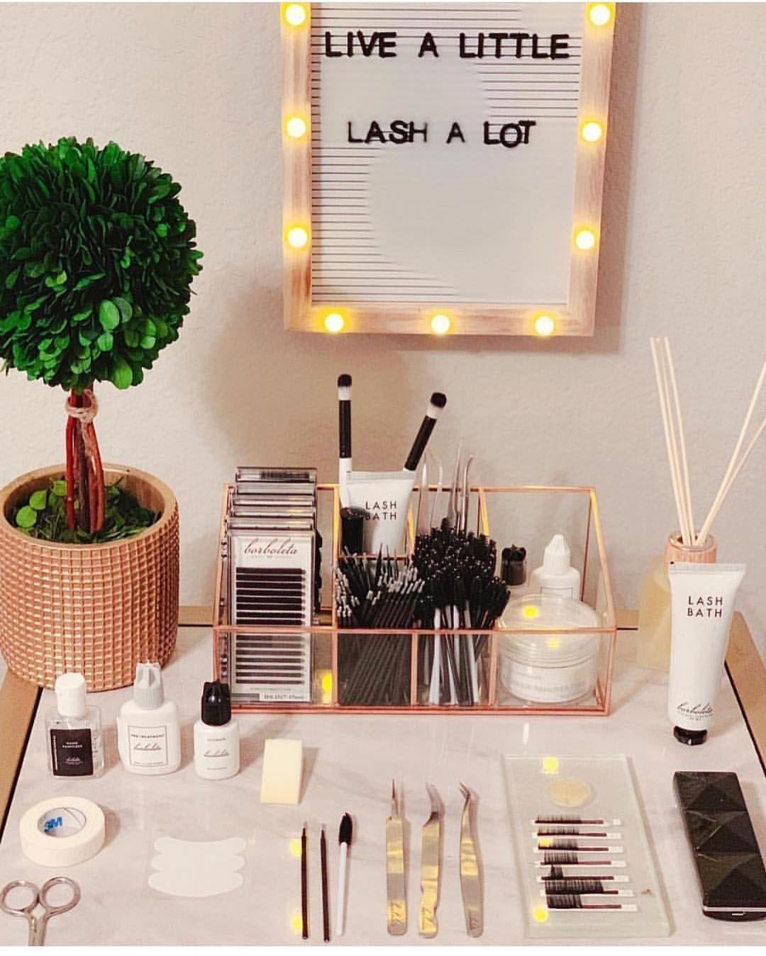 "Lash Land💕 on Instagram ""Lash Setup Love"