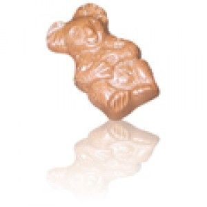A box of 45 Belgian Chocolates Koalas. Koala shaped chocolates, moulded with milk couverture. They come unwrapped, in bulk.