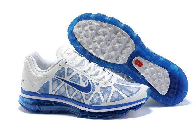 Schuhe 91171nike 2009 Weiß Max Air Herren Nike Blau schuhe 0PkXN8nwO