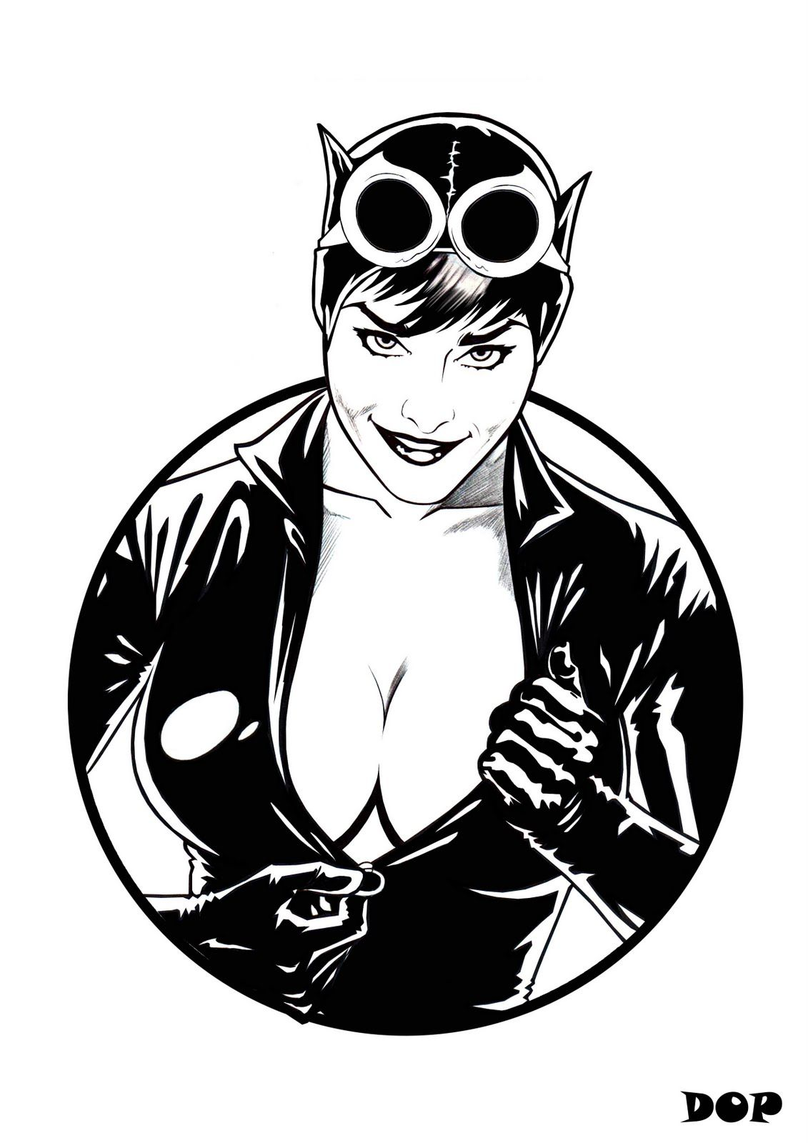 catwoman | dibujos | Pinterest | Catwoman