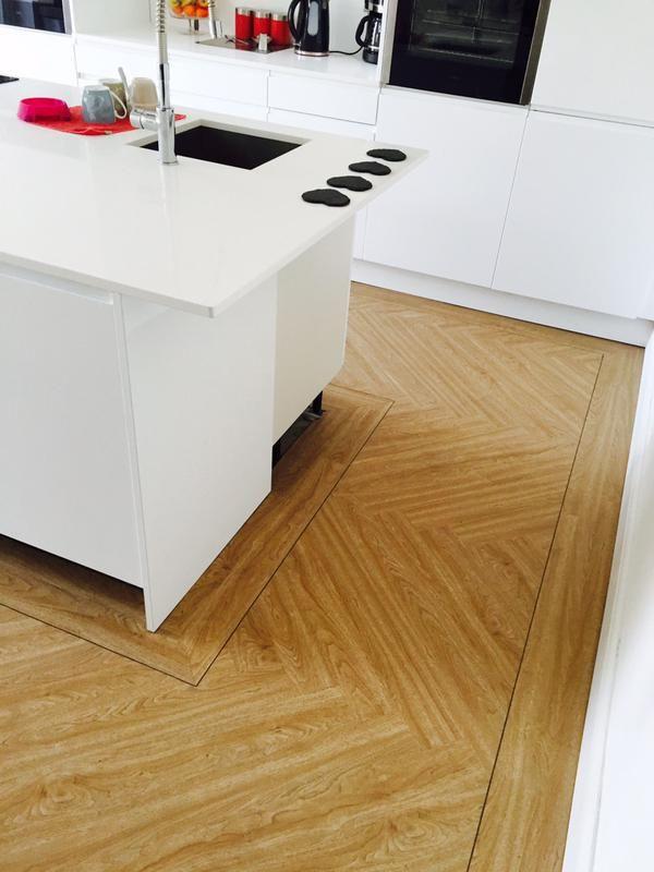 Effortless Flooring Camaro American, Install Flooring Under Kitchen Cabinets