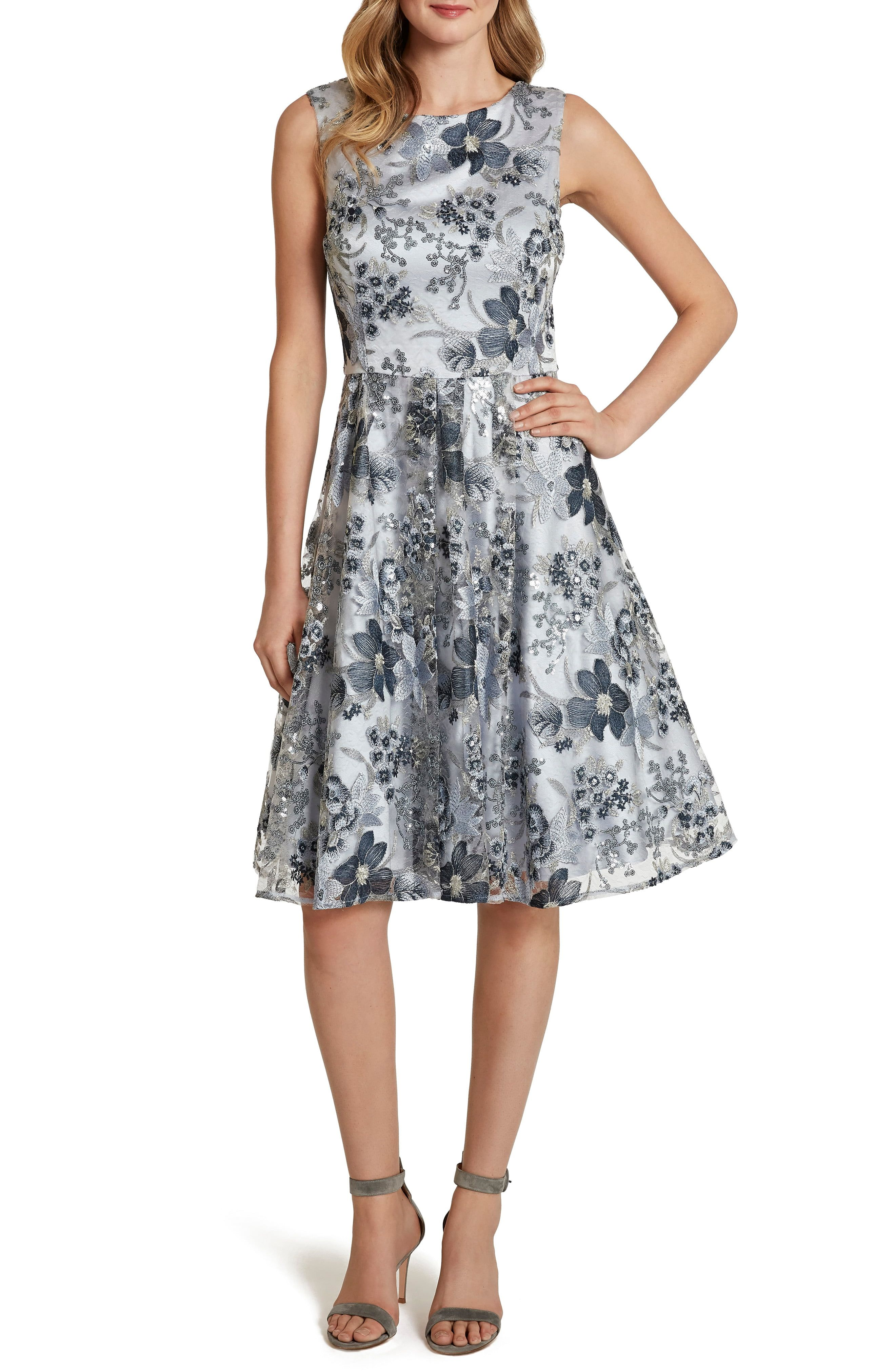 Tahari Sleeveless Embroidered Fit Flare Cocktail Dress Nordstrom Fit And Flare Cocktail Dress Cocktail Dress Dresses [ 4048 x 2640 Pixel ]