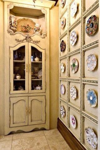 Oyster Plates Display
