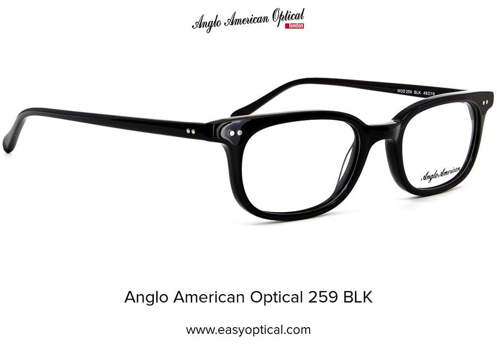 809e8d3ef4f3 Anglo American Optical 259 BLK