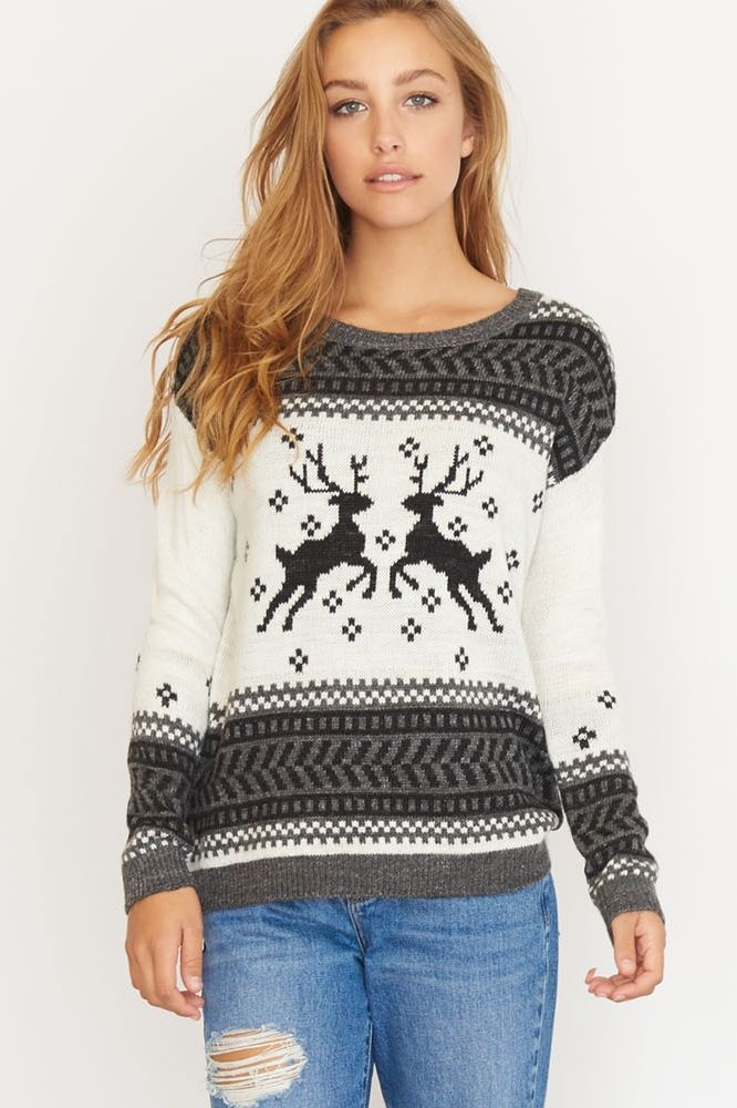 Jacquard Sweater. Jacquard Sweater Christmas Jumpers 3226fd54d