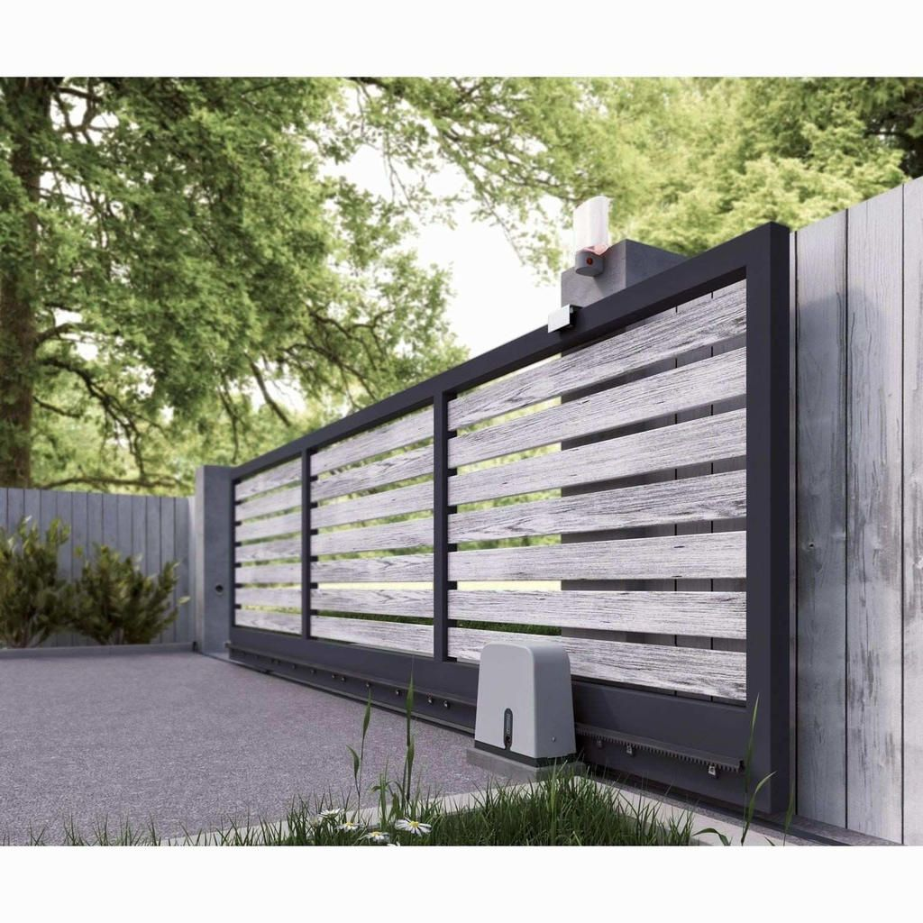 77 Lame Bois Cloture Leroy Merlin Gate Design Driveway Gate Fence Design