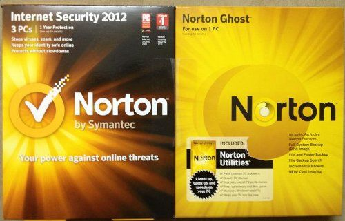 Norton Triple Bundle 2012 3 Users On Internet Security And Utilities 1 User On Norton Ghost Find Me The Cheapest Price 26 Computer Security Security Suite Security Certificate