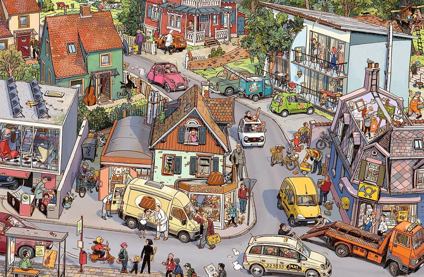 Картинка веселый городок