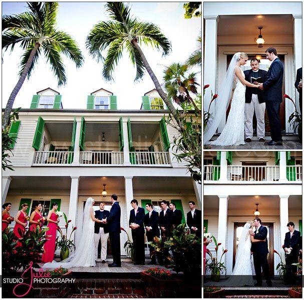 Audubon House Wedding Key West Florida Photography By Studio Julie Www