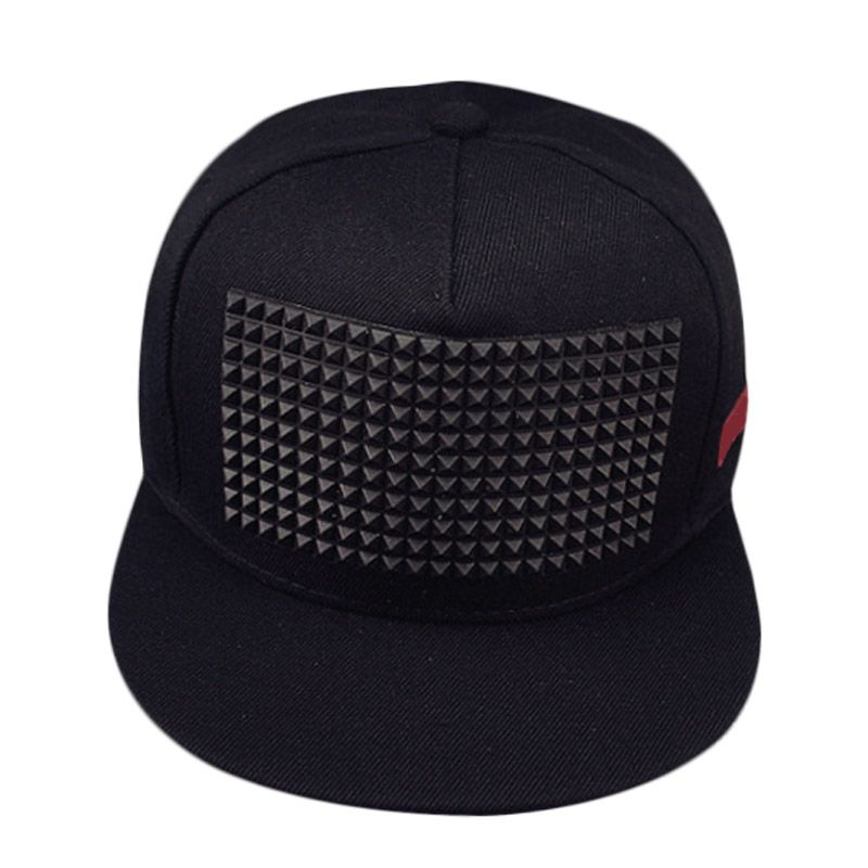 d14adfd009d Fashion Summer Unisex Baseball Sunscreen Cap Hip Hop Hats Rivet Decorate  Adjustable Men Women Hat Casual