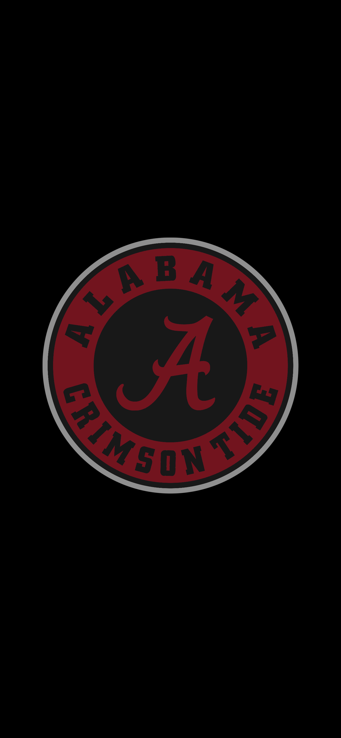 Bama Black Alabama Crimson Tide Logo Alabama Crimson Tide Football Wallpaper Alabama Crimson Tide