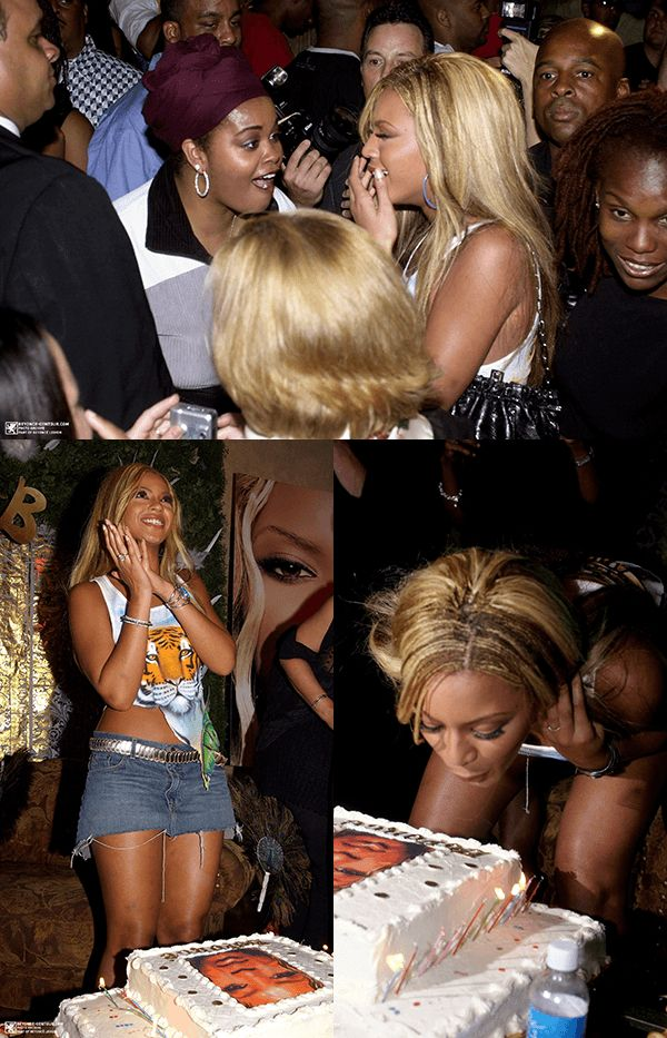 Beyoncé at her 20th Birthday Party thrown by MTV (Sept. 7
