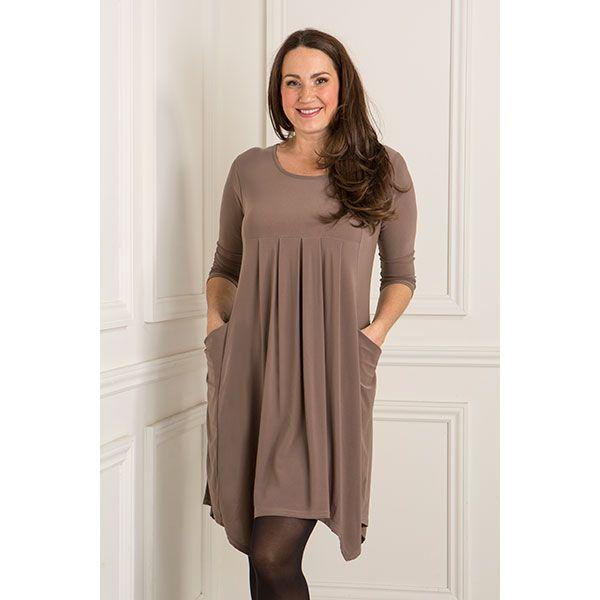 Nicole Empire Dip Hem Dress (363570)   Ideal World