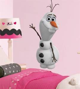 Olaf Snowman Frozen Disney Decal Removable Wall Sticker Home Decor Art Kids Huge | eBay
