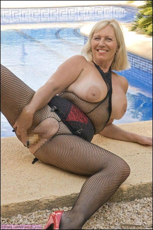 pantyhose mature Sandy secrets