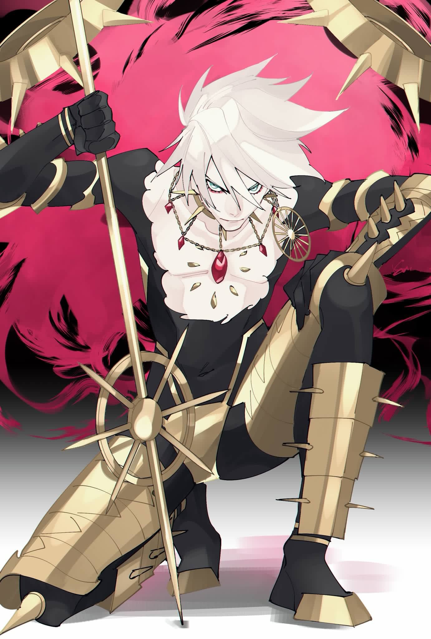 Karna ( Lancer ) FGO | Chaldea Room | Fate servants, Fate