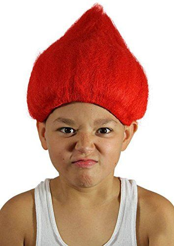 My Costume Wigs Boy s Red Troll Wig (Red) One Size fits all     Check out  this great product. 4e1cb791edaa