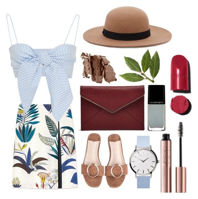 """""""Summer? Over?"""" by waffledino on Polyvore featuring Tory Burch, Forever 21, Rebecca Minkoff, Chanel and Illamasqua"""