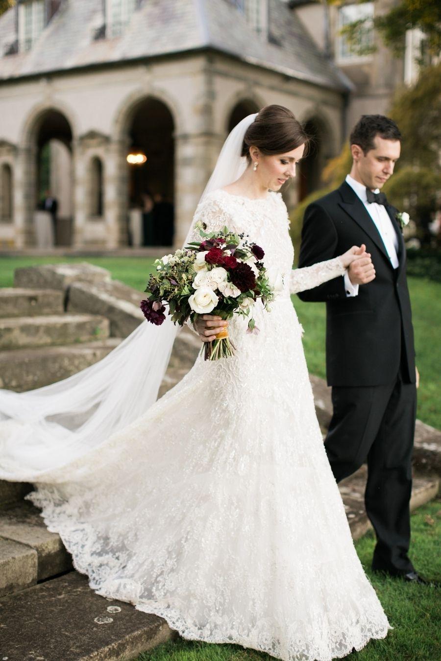 Elegant + Intimate Glen Manor Wedding Modest wedding