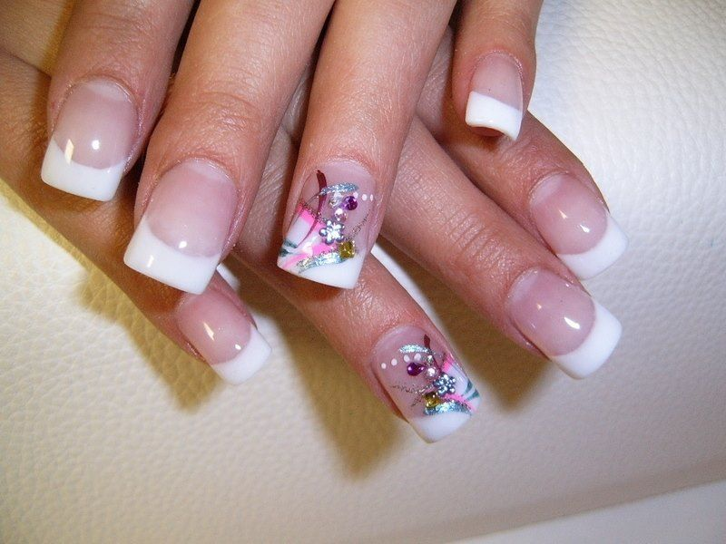 The french manicure nail art nail art pinterest french the french manicure nail art prinsesfo Gallery