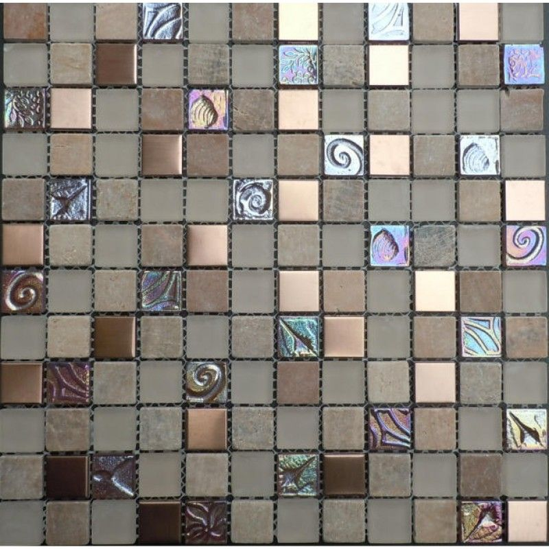 Frosted Gl Backsplash In Kitchen 7 8 Iridescent Mosaic Natural Stone Wall Tiles