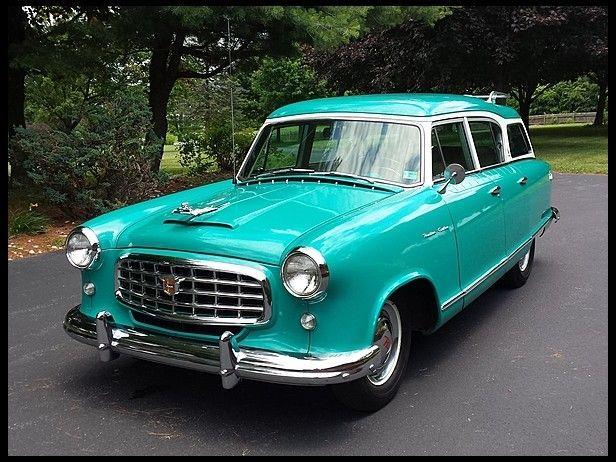 1955 Nash Rambler Custom Cross Country wagon