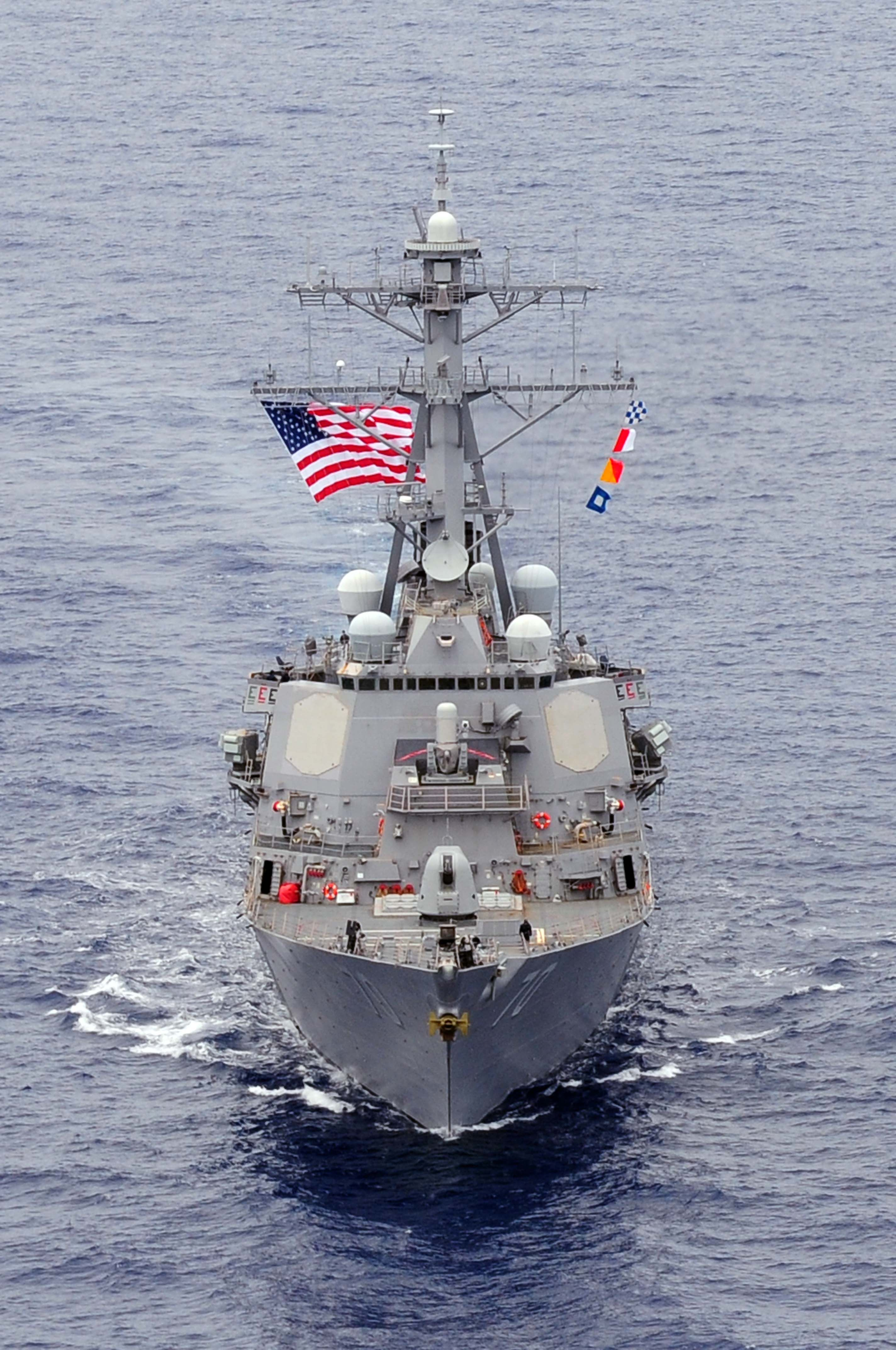 Honolulu April 15 Guided Missile Destroyer Uss