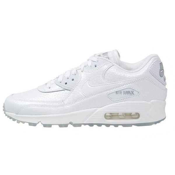 Inexpensive 147945 Nike Air Max 90 Men White Grey Black Shoes