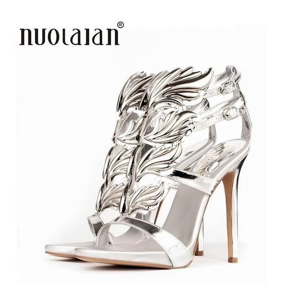 ea5dfa1b4739 Leaf Flame Women s Shoes Peep Toe