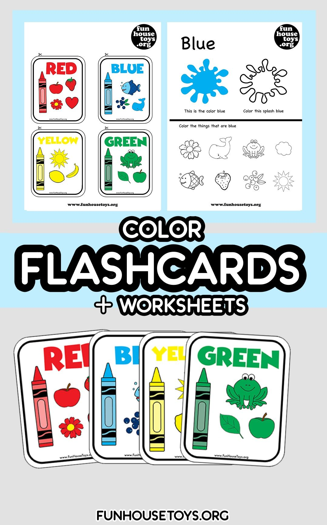 Learning Colors With Our Printable Worksheets For Toddlers