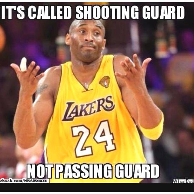 Kobe Funny Basketball Memes Funny Nba Memes Kobe Memes