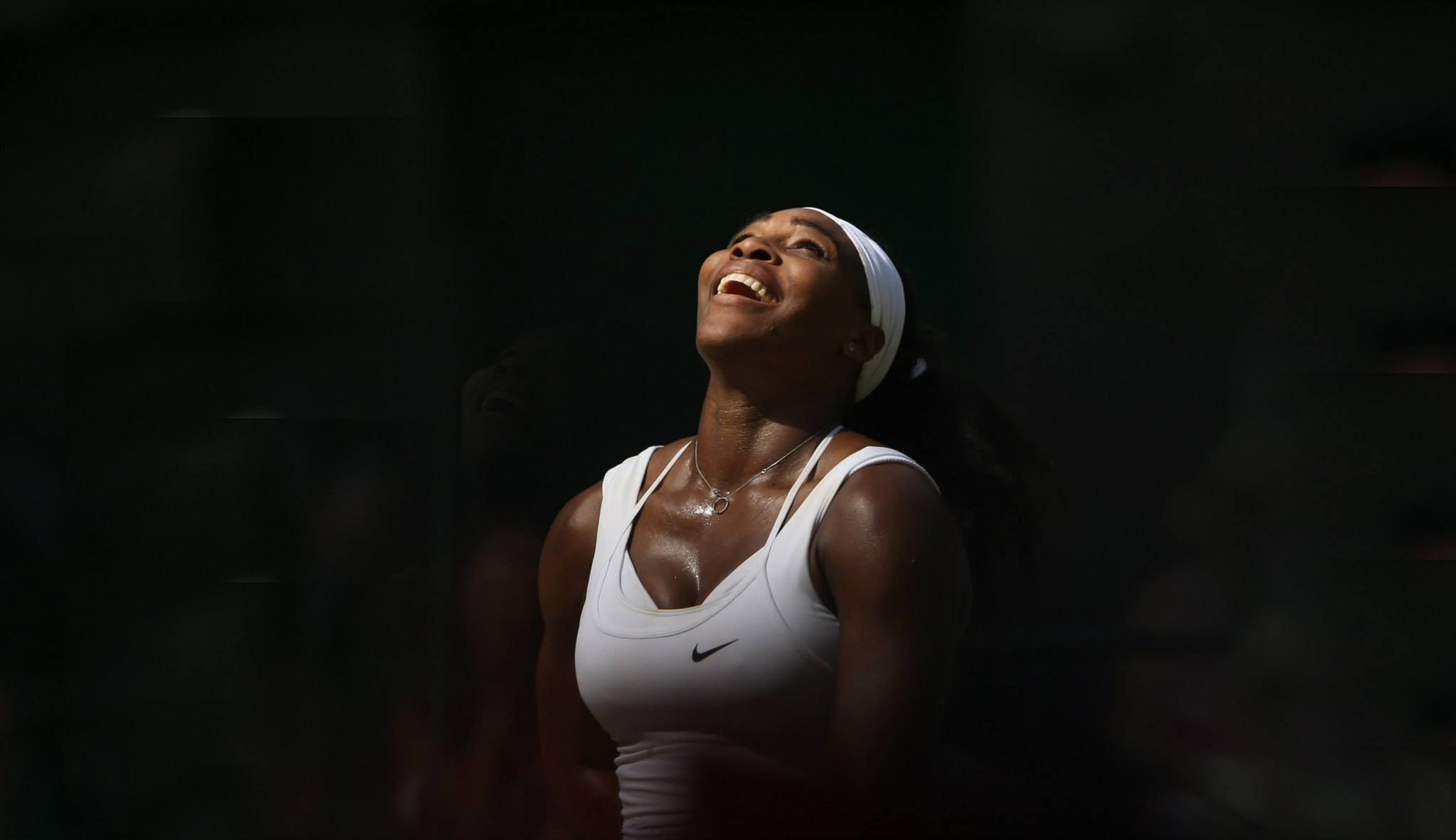 Serena After Winning 2015 Wimbledon Champion 21st