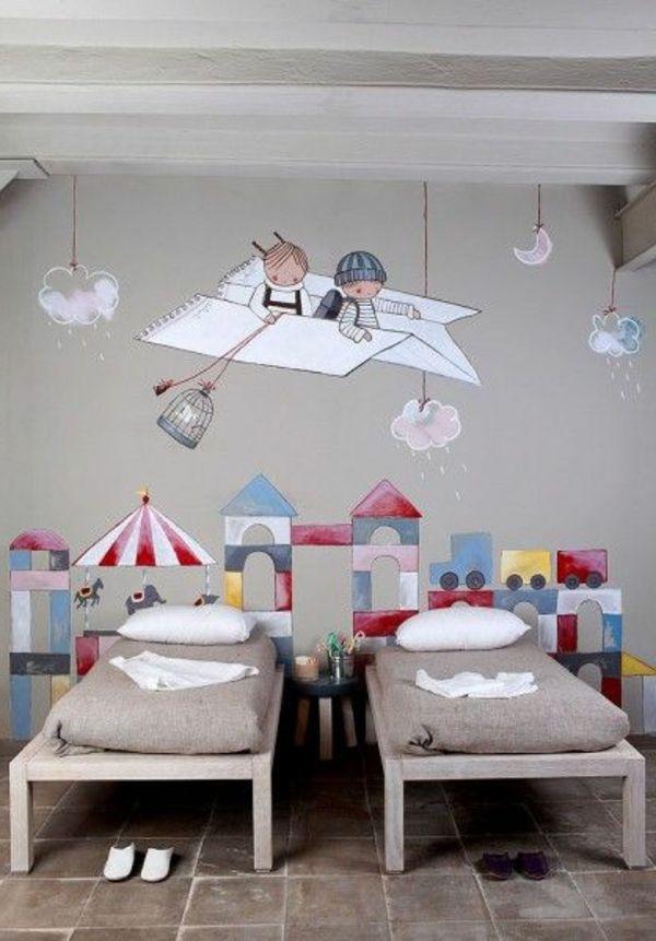 Wandmalerei Im Kinderzimmer   Ein Entzückendes Ambiente Erschaffen ·  Kinderzimmer WandKinderzimmer IdeenZimmer Streichen ...