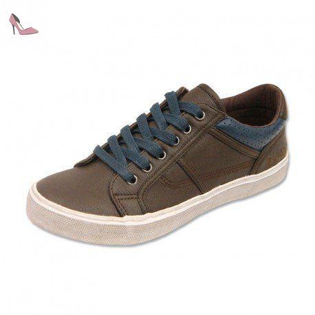 Chaussures à lacets bleues Casual garçon Yo7Ncu