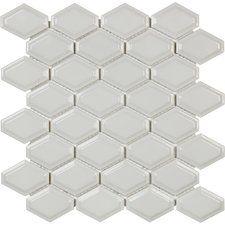 Sail Ceramic/Porcelain Mosaic Tile in Porpoise
