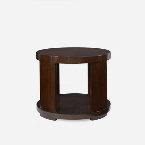 Modern Drum End Table   Occasional Tables   Furniture   Products   Ralph  Lauren Home