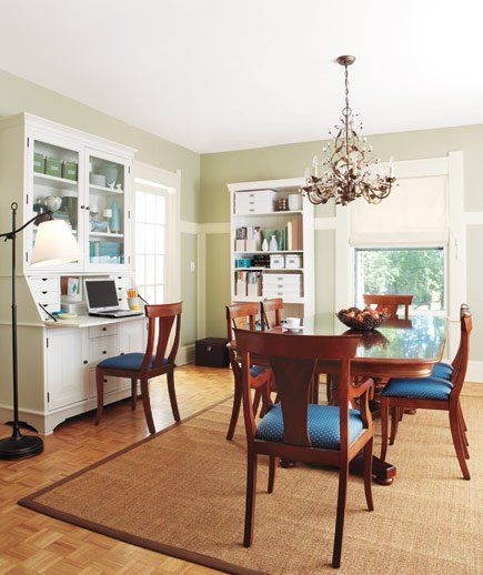 14 Living-Room and Dining-Room Makeovers Organizing, Room and
