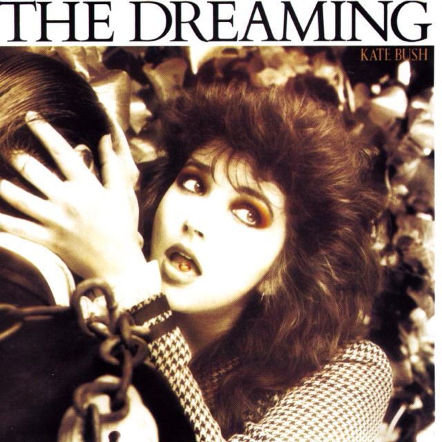 Danielle Hamer - do you remember painting this on the back of my jean jacket in high school? The Dreaming (1982) - Kate Bush