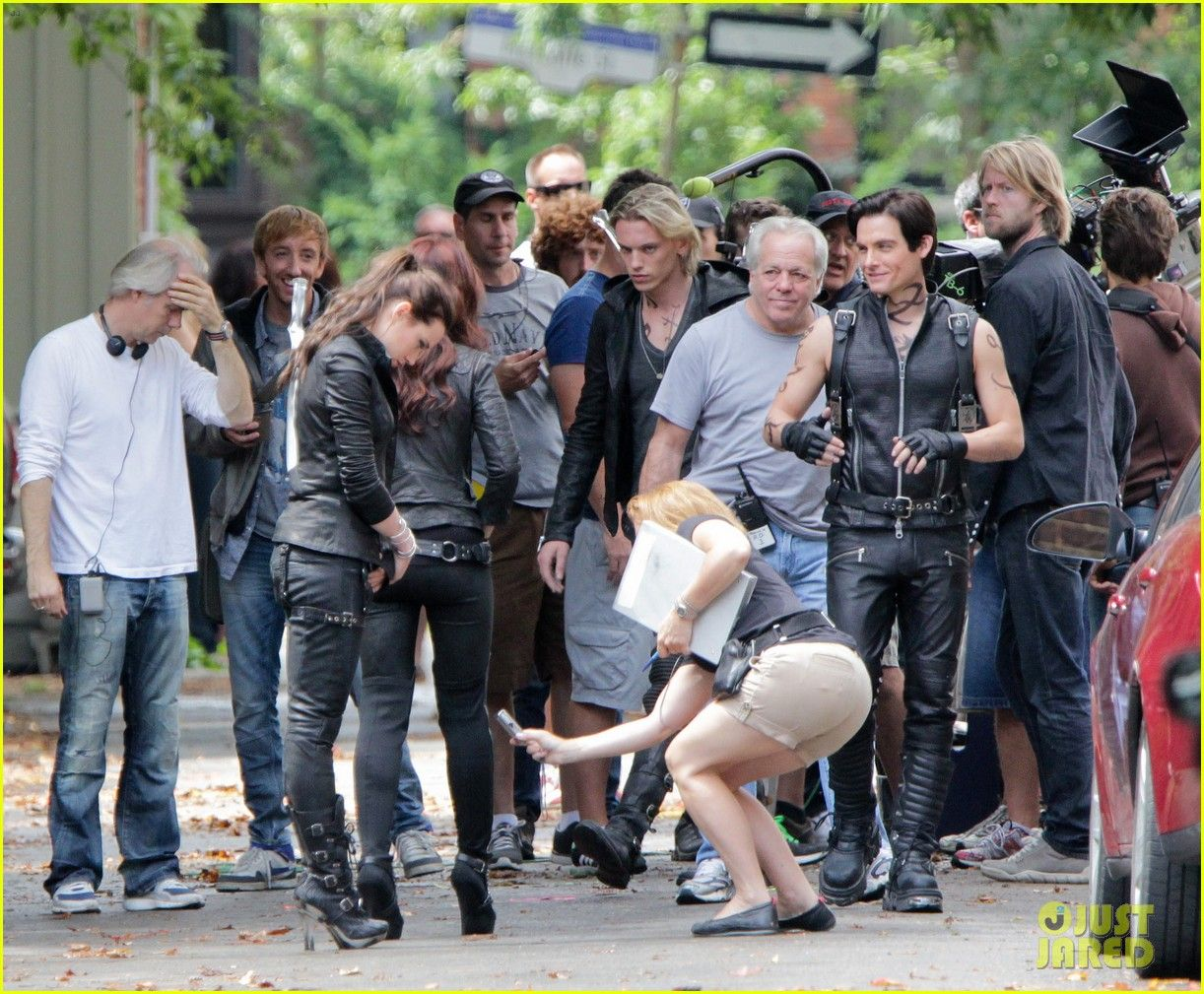 city of ashes movie set - photo #7