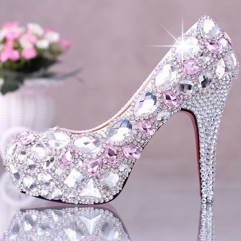 Fashionboots On Wedding Shoes Heels Bling Shoes Wedding Shoes