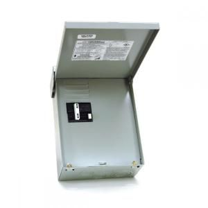 Midwest Electric Products 50 Amp 240 Volt 240 Watt Non Fuse Metallic Spa Panel Disconnect With Gfi Ug412rmw250p The Home Depot Electricity The Home Depot Pool Equipment