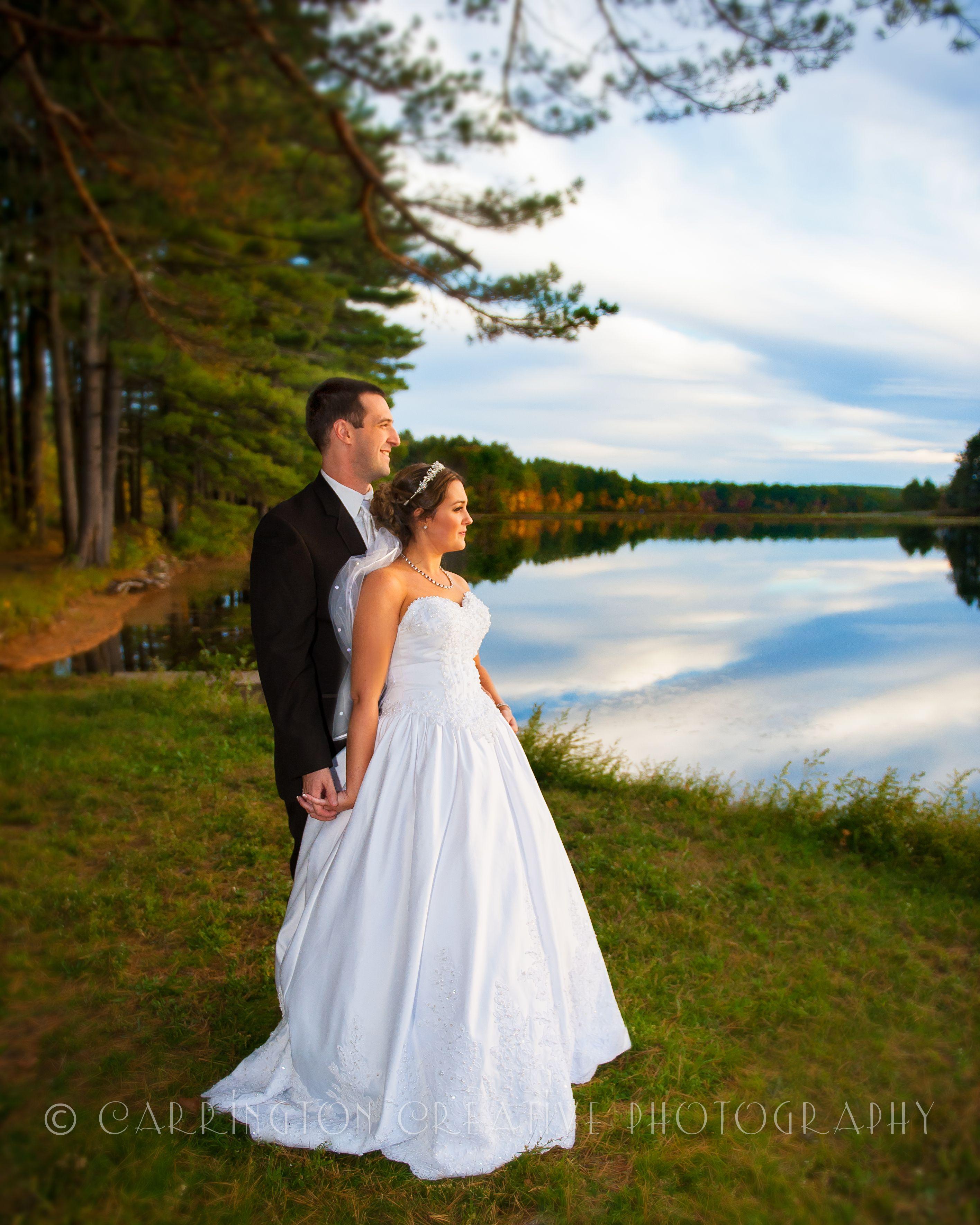 Bride. Groom. Beautiful View... Wedding Photography by Carrington Creative Photography