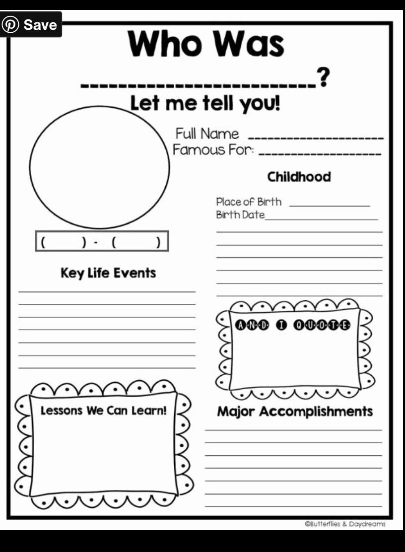 Pin By Ashley Church On Teaching Concepts In 2020 Third Grade Social Studies Autobiography Template Social Studies Worksheets
