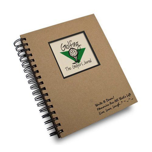 Golfing, a Golfer's Journal - Prompt Journal/notebook Spiral Bound - Hard Cover and Eco Friendly by Journals Unlimited, Write it Down Series. $21.95. Help remember all of your best games and memories with this easy to fill-in format. Each of our journals is complete with thoughtful prompts true to the Journals Unlimited style. Golfing, The Golfer's Journal features prompts including; Weather, Course Design, Rates, Game Detail, Who I Golfed With, Best/Worst Things About ...