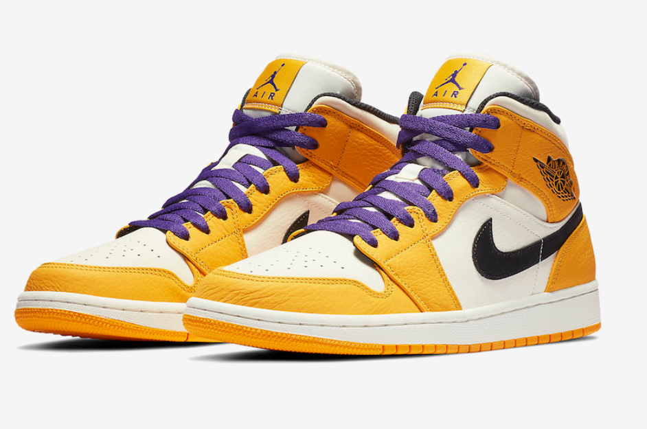 air jordan 1 jaune orange